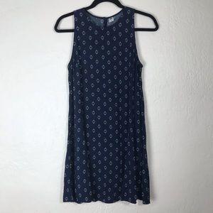 Old Navy Navy Sleeveless Swing Dress